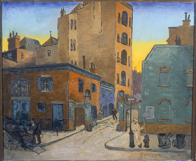 Glenn O. Coleman, 'The Mews', 1926