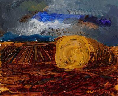 Rainer Fetting, 'Strohballen', 1986