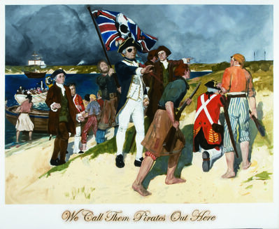 Daniel Boyd, 'We Call them Pirates Out Here', 2006