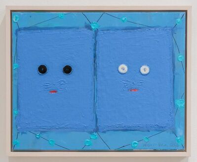 Alejandro Diaz, 'Blue Double Kitty ', 2018