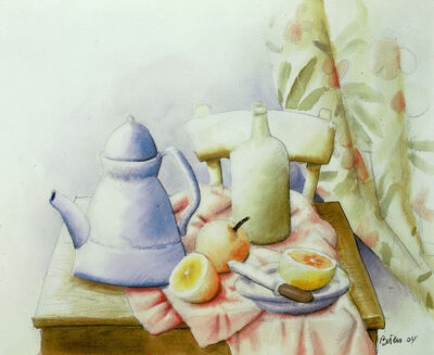 Fernando Botero, 'Still Life with Coffee Pot', 2004