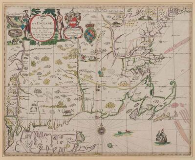 John Seller, 'A Mapp of New England by John Seller, Hydrographer to the King'
