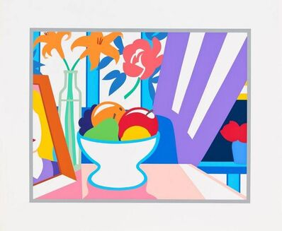 Tom Wesselmann, 'Still Life with Lilies and Mixed Fruit (91 of 100) ', 1998