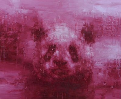Adam Chang, 'Shan Shui with Panda 1902', 2019