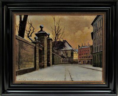Carl Ove Julian Lund, 'Cityscape', 1887