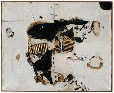 Alberto Burri, 'Combustione', 1960