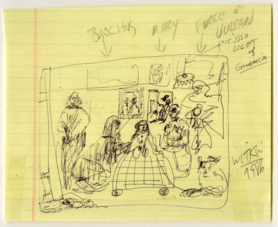 Joel-Peter Witkin, 'untitled (Las Meninas)', 1986