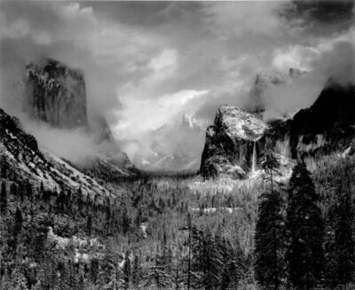 Ansel Adams, 'Clearing Winter Storm, Yosemite National Park, CA', 1944 (Printed 1970's)