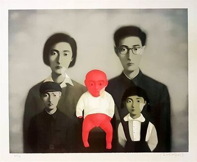 Zhang Xiaogang, 'Big Family', 2006