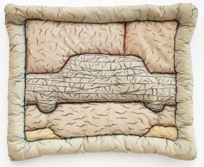 Julia Schmitt Healy, 'Bandaged Car', 1972