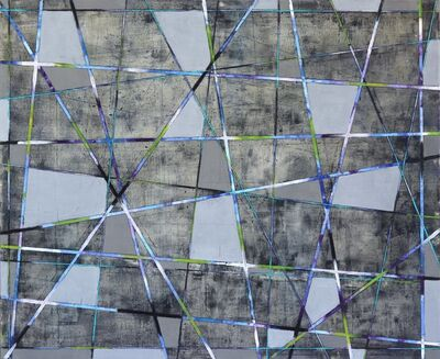 Petra Rös-Nickel, 'Diagonal Stripes', 2019