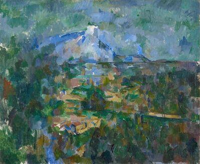 Paul Cézanne, 'Le Mont Sainte-Victoire vu des Lauves', 1904-1906