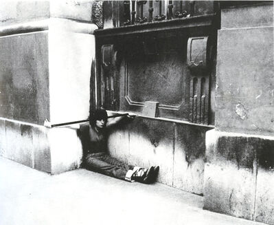 VALIE EXPORT, 'Körperkonfigurationen, Einfügung', 1976
