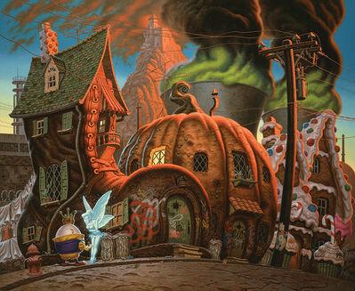 Todd Schorr, 'No Solar Power for Fairyland (Color Study)', 2014