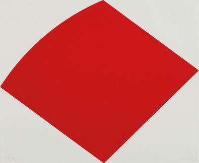 Ellsworth Kelly, 'Red Curve', 1996-1997