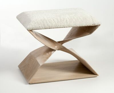 Carol Egan, 'Sculptural Hand Carved Stool', 2013