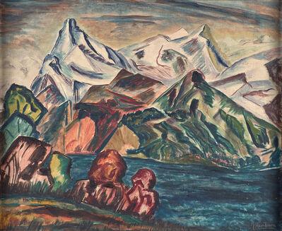 Joseph Meierhans, 'Mt. Rotstock Lake', 1930