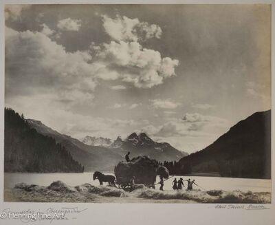 "Albert Steiner, '""Sommertag im Oberengadin. - bei Silvaplana -""  (Summer day in the Upper Engadin. - at Silvaplana -)', 1925-1950"
