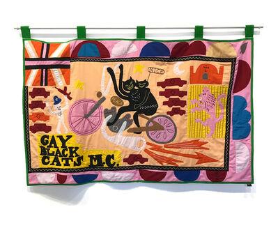 Grayson Perry, 'Gay Black Cats M.C.', 2017