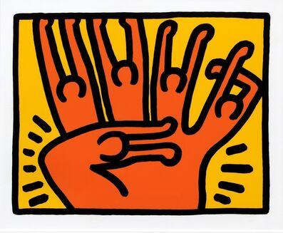 Keith Haring, 'Pop Shop VI, planche 3 ', 1989