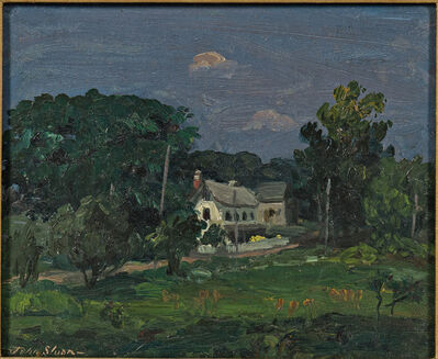 John Sloan, 'White House, Pennsylvania'