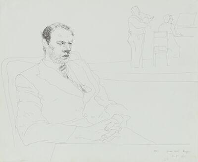 David Hockney, 'Mark, Strand Hotel, Rangoon', 1971