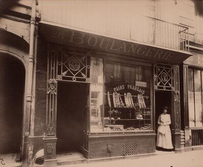 Eugène Atget, 'Boutique Boulangerie, Rue des Blancs Manteaux, 28, 4e arrondissement', ca. 1910