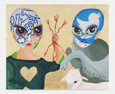 Bailey Scieszka, 'he Peaceable Kingdom #3 (Twitter and Nestle Face Paint)', 2020