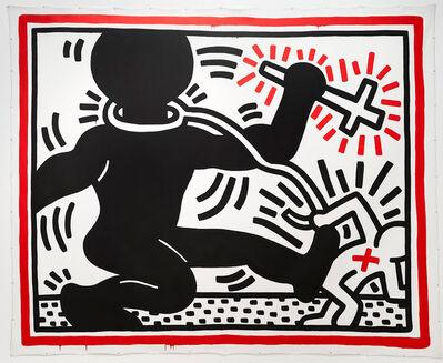 Keith Haring, 'Untitled (Apartheid)', 1984