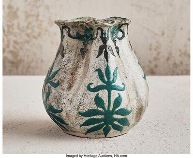 Henri-Leon-Charles Robalbhen, 'Foliage Vase', 1898