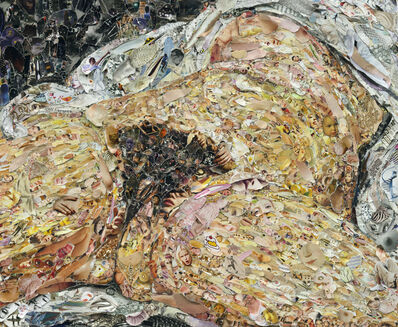Vik Muniz, 'Pictures of Magazine 2: Origin of the World, after Courbet', 2013