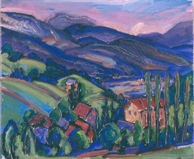 Jeffrey Hessing, 'Mountain Village', 1996