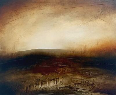 Paul Denham, 'The Oldest Hill - Moorland Abstract Landscape', ca. 2011