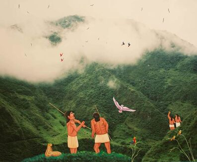 Karen Miranda-Rivadeneira, 'On the way to Sangay', 2017