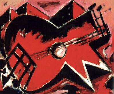 Helmut Middendorf, 'Die Gitarre', 1978