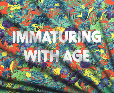 Adam Mars, 'Immaturing with Age', 2018