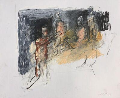 Thaddeus Radell, 'Five Figures', 2019