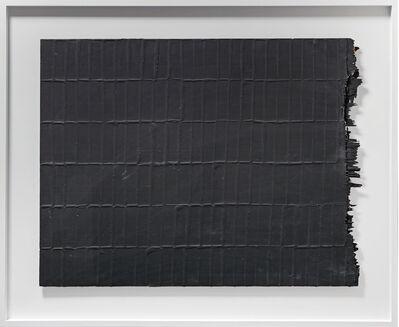 Herbert Zangs, 'Reihung Schwarz', 1976