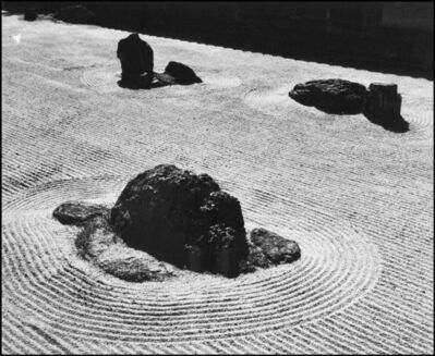 Werner Bischof, 'The Zen garden of the Temple of Ryoanji. Kyoto, Japan.  ', 1951