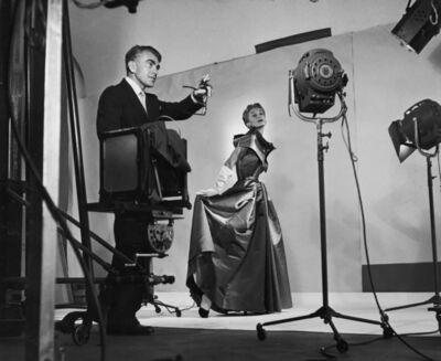 Roy Stevens, 'Horst directing fashion shoot with Lisa Fonssagrives', 1949