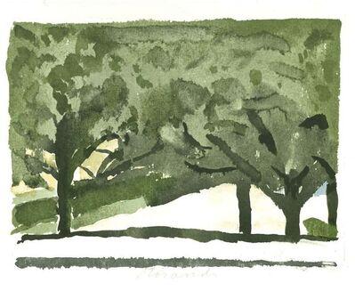 Giorgio Morandi, 'Green Trees', 1973
