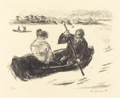 Max Liebermann, 'Canoeing', 1919