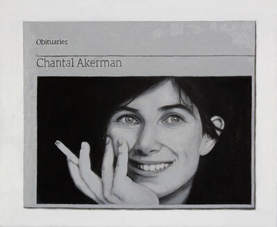 Hugh Mendes, 'Obituary: Chantal Akerman', 2016