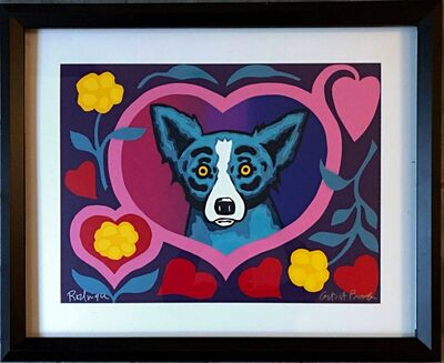 George Rodrigue, 'Our Love Blooms', ca. 2001