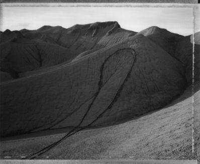Mark Klett, 'Dirt bike loop, west of Henryville, Utah, 4/18/91', 1991