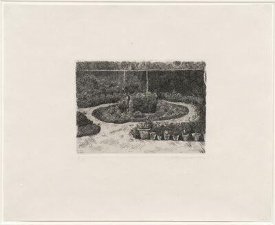 Giorgio Morandi, 'Il giardino di via Fondazza, 1924 (Vitali 25)', 1924