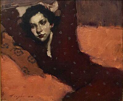 Malcolm T. Liepke, 'Girl On Sofa ', 2000