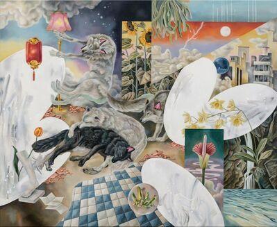 Ou Jing-Yun 歐靜雲, 'The End of Landscape is the Imaginary Heath-Sparkle 風景畫的盡頭是一座虛構的荒原-螢星', 2021