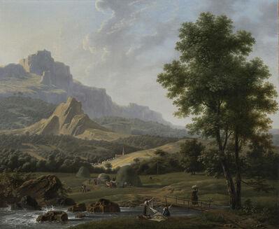 Jean Joseph Xavier Bidauld, 'Mountainous Landscape', ca. 1820