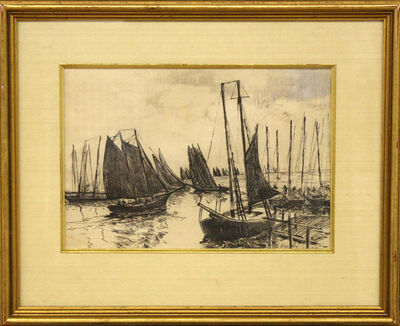 Hayley Lever, 'Boating Scene ', Unknown